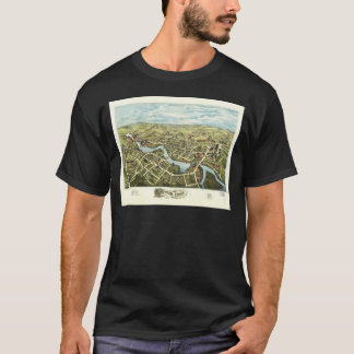 Aerial View of Putnam, Connecticut (1877) T-Shirt