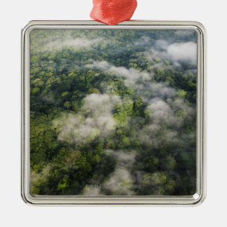 Aerial View of Rainforest, Panama Metal Ornament