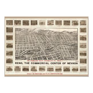 Aerial View of Reno, Nevada (1907) Card