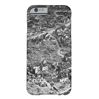 Aerial view of ruins of Vaux,France,1918_War Image Barely There iPhone 6 Case