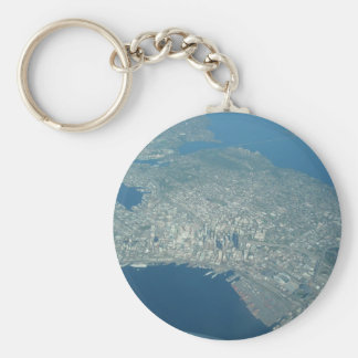 Aerial view of Seattle Keychain