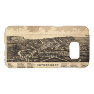 Aerial View of Silver Creek, New York (1892) Samsung Galaxy S7 Case