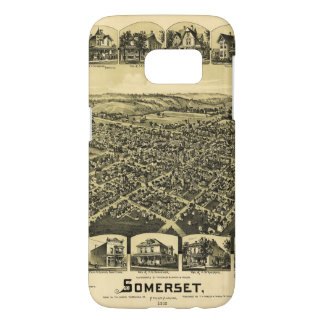 Aerial View of Somerset, Pennsylvania (1900) Samsung Galaxy S7 Case
