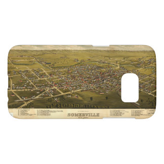 Aerial View of Somerville, New Jersey (1882) Samsung Galaxy S7 Case