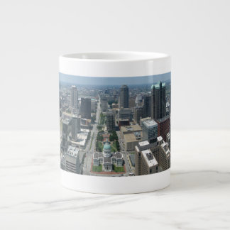 Aerial view of St. Louis Large Coffee Mug