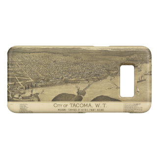 Aerial View of Tacoma, Washinton (1885) Case-Mate Samsung Galaxy S8 Case