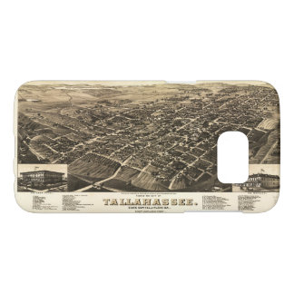 Aerial View of Tallahassee, Florida (1885) Samsung Galaxy S7 Case