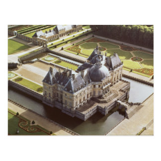 Aerial view of the Chateau, designed for Nicholas Postcard