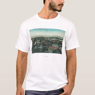 Aerial View of the City and Mare Island T-Shirt