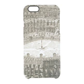 Aerial view of the Colosseum in Rome from 'Views o Clear iPhone 6/6S Case