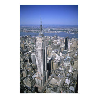 Aerial view of the Empire State Building and Art Photo