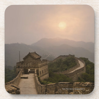 Aerial view of the Great Wall of China Drink Coaster