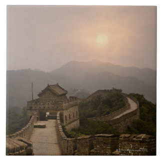 Aerial view of the Great Wall of China Ceramic Tile