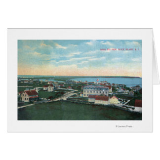Aerial View of the Town 2 Card