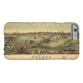Aerial View of Toledo, Ohio (1876) Barely There iPhone 6 Case