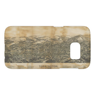 Aerial View of Torrington, Connecticut (1889) Samsung Galaxy S7 Case
