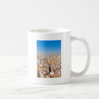 Aerial view of Valencia, Spain Coffee Mug