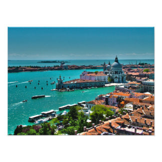 Aerial View of Venice, Italy Art Photo