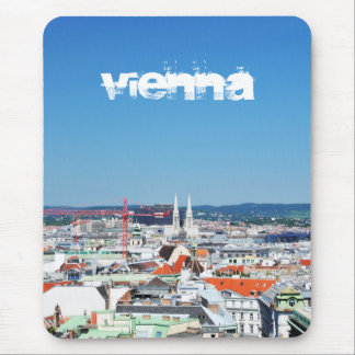 Aerial view of Vienna, Austria Mouse Pad