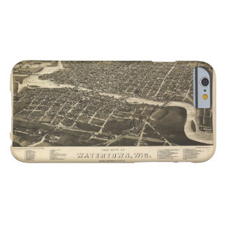 Aerial View of Watertown, Wisconsin (1885) Barely There iPhone 6 Case