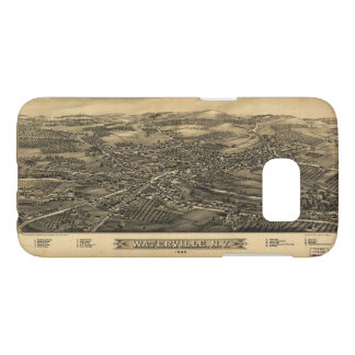 Aerial View of Waterville, New York (1885) Samsung Galaxy S7 Case