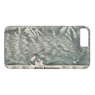 Aerial View of White Mountains, New Hampshire 1890 iPhone 8 Plus/7 Plus Case