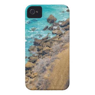 Aerial View Pacific Ocean Coastline Puerto Lopez E iPhone 4 Case-Mate Case