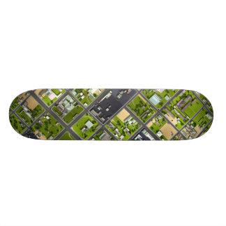 Aerial View - Skateboard