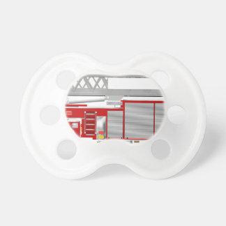 AerialLadderRedRU Baby Pacifiers