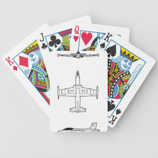 AERMACCHI_M BICYCLE PLAYING CARDS