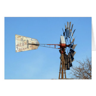 Aermotor Windmill Card