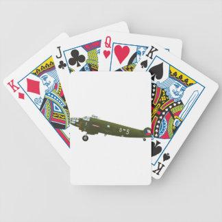 Aero_A-300_VTLU Bicycle Playing Cards