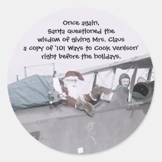 Aero Santa! - Sticker