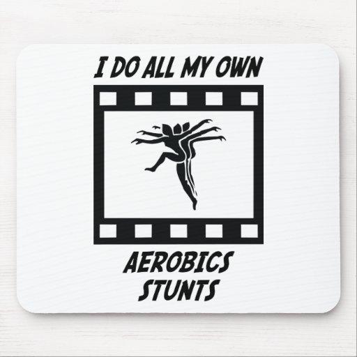 Aerobics Stunts Mouse Mats