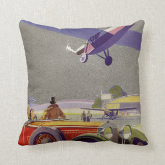 Aerodrome Throw Pillow
