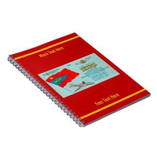 Aeroflot Passenger Ticket Notebook