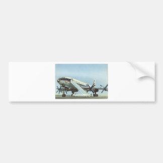 Aeroflot Tu 114 AIRLINER Car Bumper Sticker
