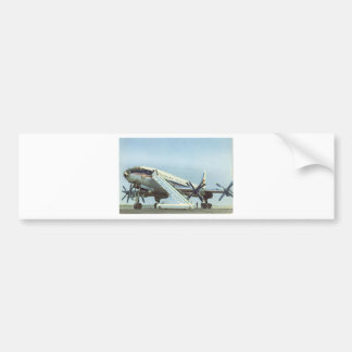 Aeroflot Tu 114 AIRLINER Bumper Sticker
