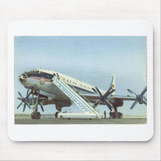 Aeroflot Tu 114 AIRLINER Mouse Pad