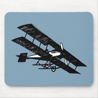 Aeroplane Aircraft Flying Machine Mouse Pad
