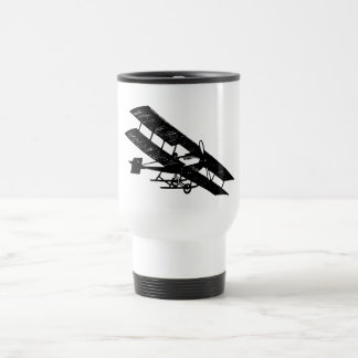 Aeroplane Aircraft Flying Machine Travel Mug