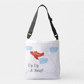 aeroplane bag, travellers bag