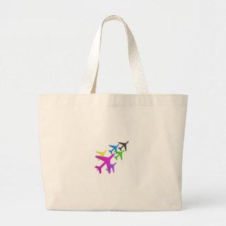 AEROPLANE cadeaux pour les enfants flotte d'avion Jumbo Tote Bag