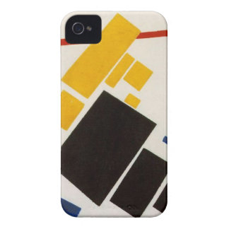 Aeroplane Flying by Kazimir Malevich iPhone 4 Covers