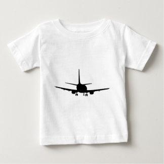 Aeroplane Silhouette, Jet plane Baby T-Shirt