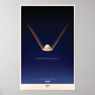 Aeroshell Re-Entry Poster
