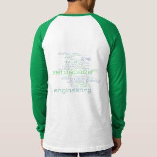 Aerospace Engineering Word Cloud T-Shirt
