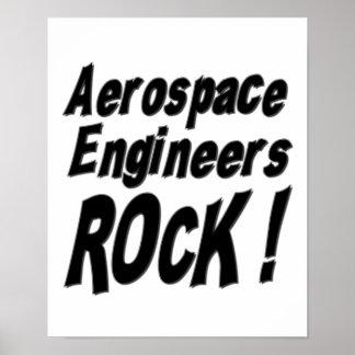 Aerospace Engineers Rock! Poster Print