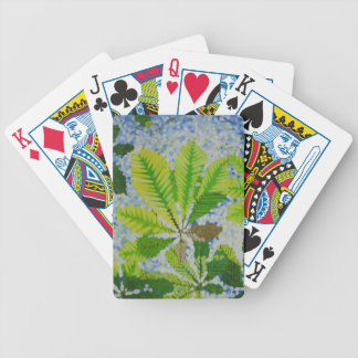 aesculus_hypocastina- bicycle playing cards