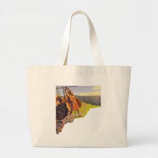 Aesir and Vanir Large Tote Bag
